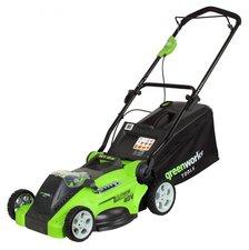 Greenworks Akku Rasenmäher G-MAX 40V 40cm (ohne Akku und Ladegerät)