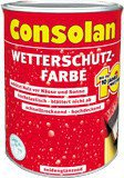 Consolan Wetterschutz-Farbe 2,5 l rotbraun