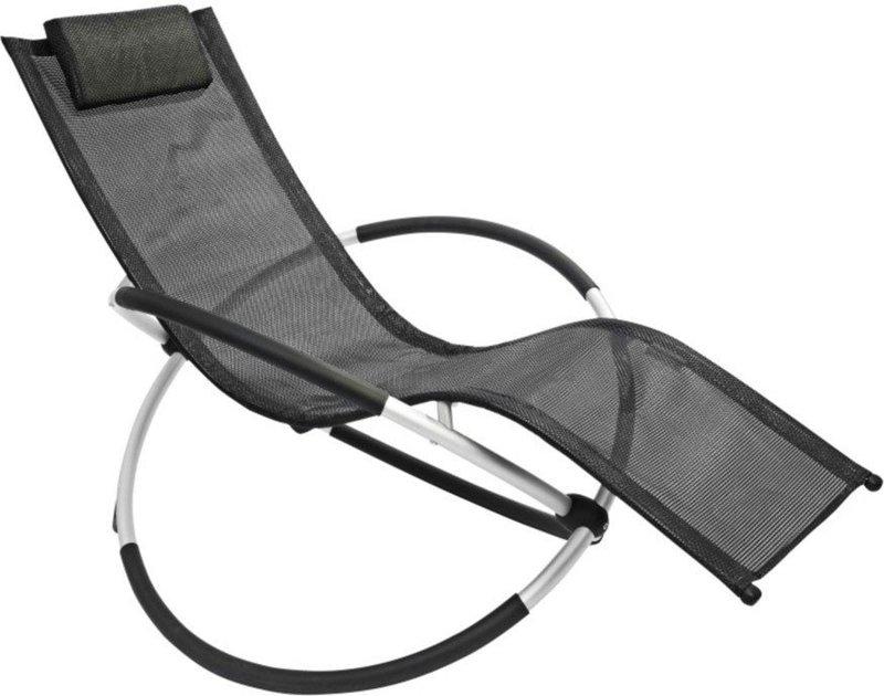 leco schaukelstuhl schwarz preisvergleich ab 71 01. Black Bedroom Furniture Sets. Home Design Ideas