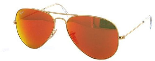 Ray Ban Aviator Large Metal RB3025 112/69 (gold matt/red mirror)
