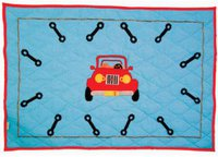Win Green Garage Floor Quilt (groß)