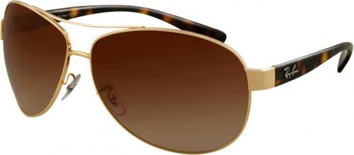 Ray Ban RB3386 001/13 (arista/brown gradient)