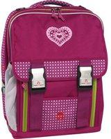 Take It Easy Schulrucksack London Pink Heart