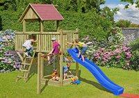 Delta Gartenholz Spielanlage Spar Set - Red Head
