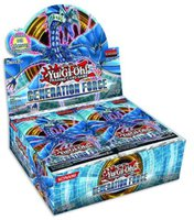 Yu-Gi-Oh Generation Force Booster Display