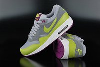 Nike Wmns Air Max 1 Essential wolf grey/venom green/cool grey/bright green