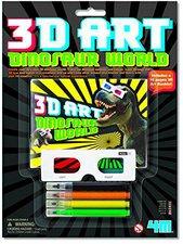 4M 3D Art Dinosaur world