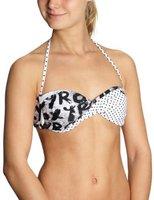 Roxy Twist Bandeau bikini top