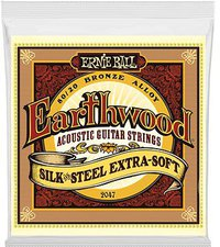 Ernie Ball Earthwood Silk & Steel Extra Soft .010 - .050 Acoustic 80/20 Bronze