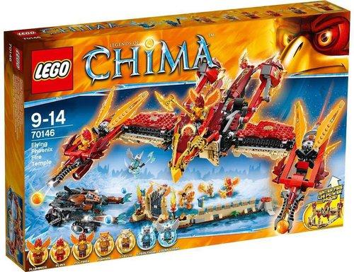 LEGO Chima Flying Phoenix Fire Temple (70146)