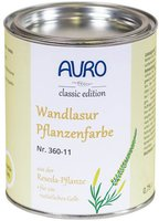 AURO Wandlasur-Pflanzenfarbe 360-38 Krapp-Rot 0,75 l