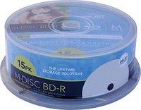 Millenniata M-Disc BD-R 25GB 15er Spindel