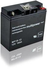 Multipower MP18-12 Bleiakku 12V 18 Ah
