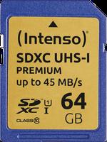 Intenso SDXC 64GB Class 10 (3421490)