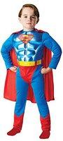 Rubies Kinderkostüm Superman Metallic