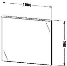 Duravit X-Large Spiegel beleuchtet (XL729507979)