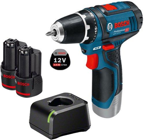Bosch GSR 10,8-2-LI Set Professional 2 x 2,0 Ah (0 601 868 10C)