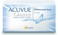 Johnson & Johnson Acuvue Oasys with Hydraclear Plus -0,50 (12 Stk.)