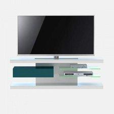Jahnke SL 660 LED TV-Rack (86VW80) weiß / petrol