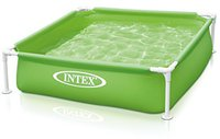 Intex Pools Frame Kinderpool Mini 122 x 122 x 30 cm gelb (57172)