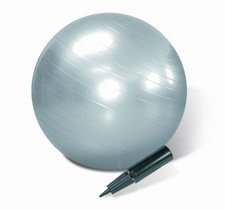 Body One Gym Ball 75 cm mit Luftpumpe