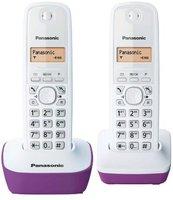 Panasonic KX-TG 1612 weiß/violett