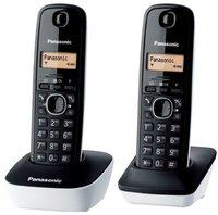 Panasonic KX-TG 1612 schwarz/weiß