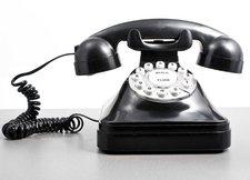 Goodsngadgets Nostalgie Telefon mit Wählscheibe
