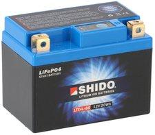 Shido YTX4L-BS Lithium Batterie 12V 19Wh