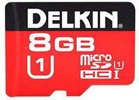 Delkin microSDHC Class 10 375x