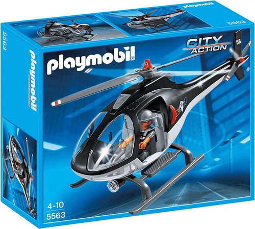 Playmobil City Action - SEK Helikopter (5563)