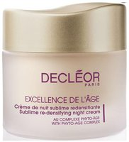 Decleor Excellence de l'âge Crème de nuit sublime redensifiante (50 ml)