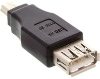 InLine USB 2.0 Adapter, Buchse A auf Mini-5pol Stecker (33500B)
