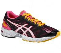 Asics Gel-DS Trainer 19 Women black/white/neon pink
