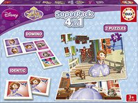 Educa Superpack Sofia the First 4 in 1