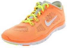 Nike Free 5.0 TR Fit 4 Wmn orange/white/volt/light base grey