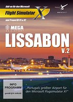 Mega Airport Lissabon V.2 (Add-On) (PC)