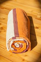 Berk Esoterik Yoga Matte aus Baumwolle orange