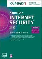Kaspersky Internet Security 2015 Upgrade (5 User) (1 Jahr) (DE) (Win) (FFP)