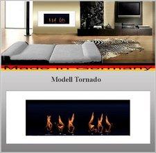DF-Shopping Ethanolkamin Gelkamin Kamin Modell Tornado Weiss