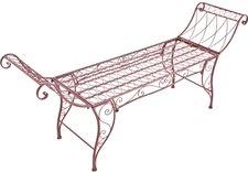 Garden Pleasure Lehnenbank 2-Sitzer (Eisen)