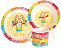 sigikid Kindergeschirr-Set Rainbow Rabbit