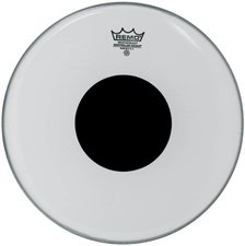 Remo Smooth White Controlled Sound Bassdrum Black Dot 26 ""