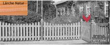 Josef Steiner Eiderzaun 95 Einzeltor 100 x 80/ 90 cm