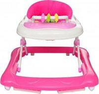 vidaXL Babywalker Lauflernhilfe Gehfrei - rosa