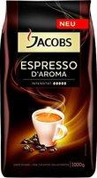 Jacobs Espresso D'Aroma ganze Bohne (1 kg)