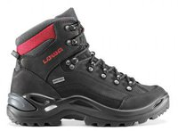 Lowa Renegade GTX Mid Wns black/red