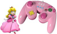 Pelican Wii U Wired Fight Pad (Peach)