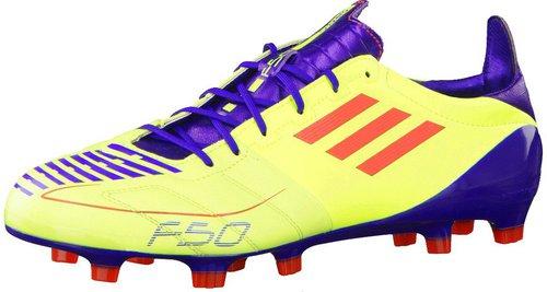 Adidas F50 adizero TRX FG Leder (2011) electricity/infrared/anodized sharp purple