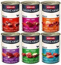 Animonda Petfood GranCarno Mixpack (6 x 400 g)